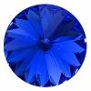 Swarovski Stones 1122 Rivoli 18mm Sapphire 6Pcs